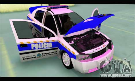 Chevrolet Astra Policia Vial Bonaerense para la visión correcta GTA San Andreas