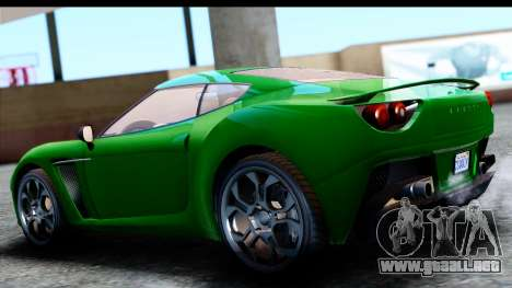 GTA 5 Grotti Carbonizzare v3 SA Mobile para GTA San Andreas left