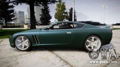 Dewbauchee Super GTR para GTA 4 left