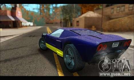 Vapid Bullet Gt (GTA IV) (LC Plate) para la visión correcta GTA San Andreas
