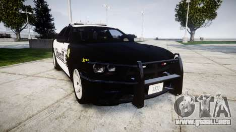 Dodge Charger 2013 County Sheriff [ELS] v3.2 para GTA 4