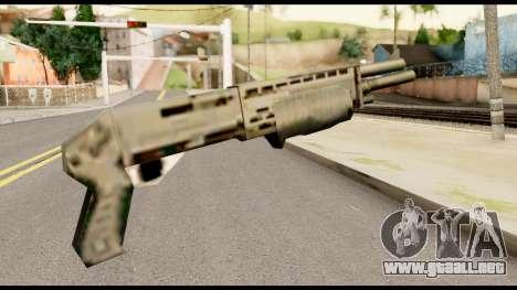 New Combat Shotgun para GTA San Andreas segunda pantalla