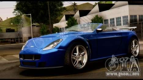 GTA 5 Dewbauchee Rapid GT Cabrio [HQLM] para GTA San Andreas left