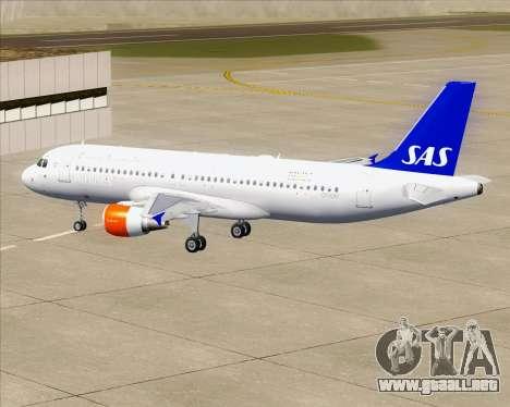 Airbus A320-200 Scandinavian Airlines - SAS para el motor de GTA San Andreas