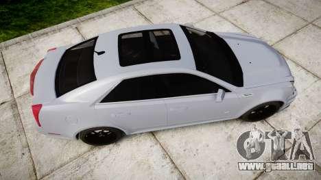 Cadillac CTS-V 2010 para GTA 4 visión correcta