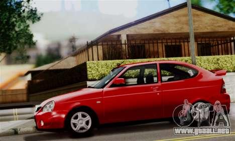 Lada Priora Sport para GTA San Andreas vista posterior izquierda