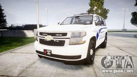 Chevrolet Tahoe 2015 LCPD [ELS] para GTA 4