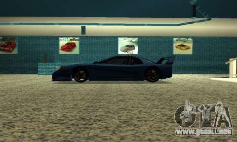 HD Turismo para GTA San Andreas left