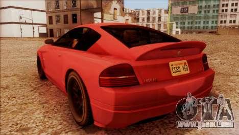 Schyster Fusilade Sport 1.0 (HQLM) para GTA San Andreas left