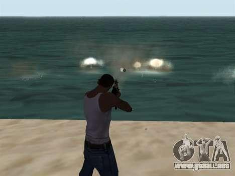 New Effects Pack White Version para GTA San Andreas segunda pantalla