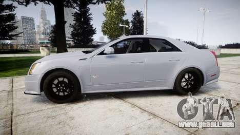 Cadillac CTS-V 2010 para GTA 4 left