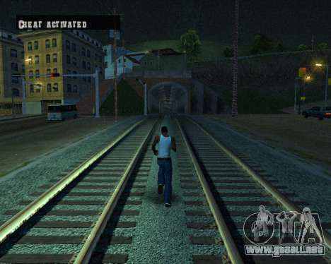 Colormod Dark Low para GTA San Andreas novena de pantalla