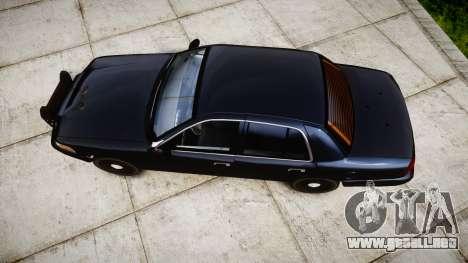 Ford Crown Victoria Police Interceptor [Retired] para GTA 4 visión correcta