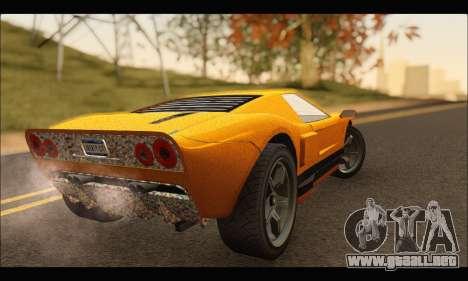 Vapid Bullet Gt (GTA IV) (Stickers Edition) para la visión correcta GTA San Andreas
