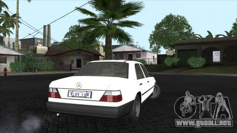Mercedes-Benz W124 para GTA San Andreas left