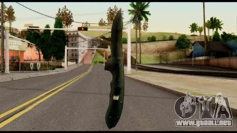 Solidsnake CQC Knife from Metal Gear Solid para GTA San Andreas