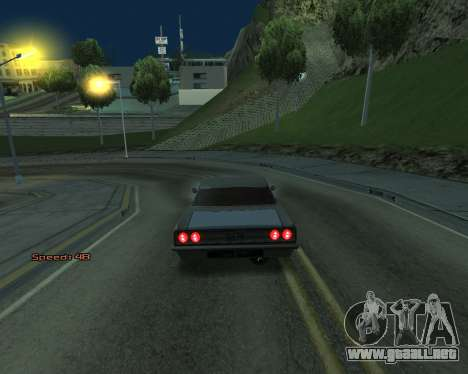 Car Speed para GTA San Andreas tercera pantalla