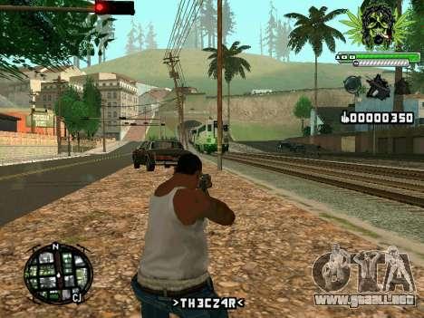 C-HUD Marihaus para GTA San Andreas