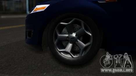 Ford Mondeo 2007 para GTA San Andreas vista posterior izquierda
