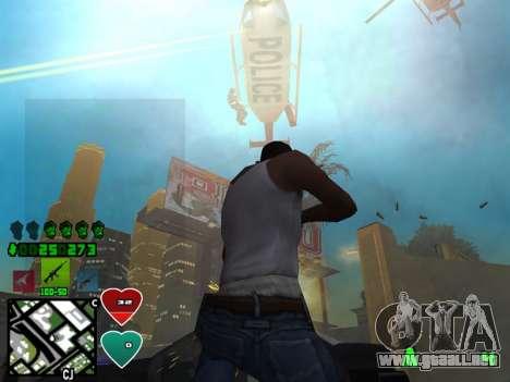 C-HUD Classic v4.1 para GTA San Andreas tercera pantalla