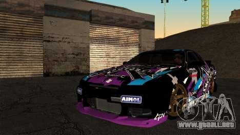 Nissan Skyline R32 Tuning Factory para GTA San Andreas