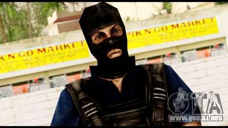 Counter Strike Skin 2 para GTA San Andreas tercera pantalla