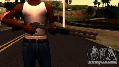 Negro MP-133 Plata para GTA San Andreas tercera pantalla