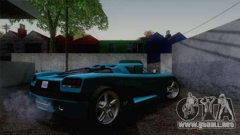 GTA V Overflod Entity XF v.2 para GTA San Andreas left