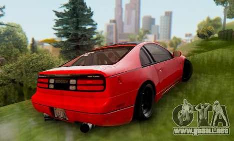Nissan 300XZ The Rolling para la visión correcta GTA San Andreas