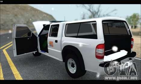 Chevrolet S-10 P.N.A para la visión correcta GTA San Andreas