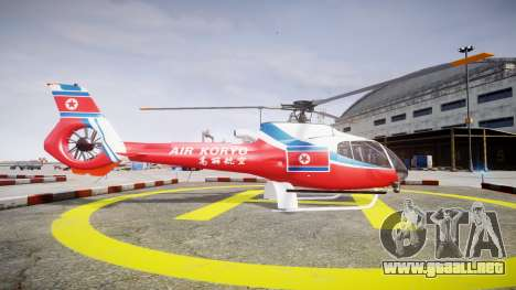 Eurocopter EC130 B4 Air Koryo para GTA 4 left