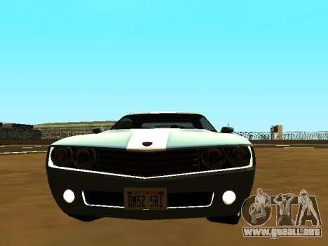 GTA 5 Bravado Gauntlet para GTA San Andreas vista posterior izquierda