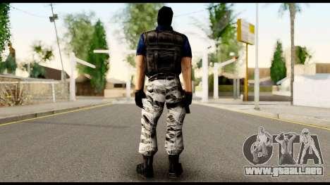 Counter Strike Skin 2 para GTA San Andreas segunda pantalla