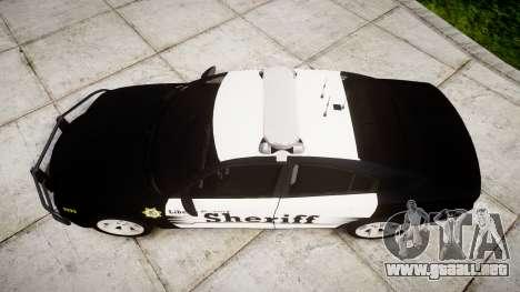 Dodge Charger 2013 County Sheriff [ELS] v3.2 para GTA 4 visión correcta