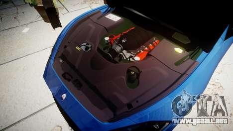 Maserati GranTurismo MC Stradale para GTA 4 vista interior