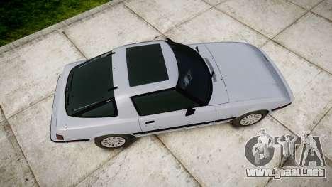 Mazda RX-7 1985 FB3s [EPM] para GTA 4 visión correcta
