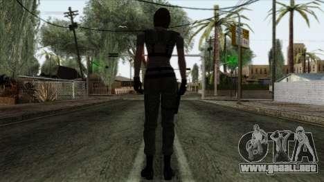 Resident Evil Skin 4 para GTA San Andreas segunda pantalla