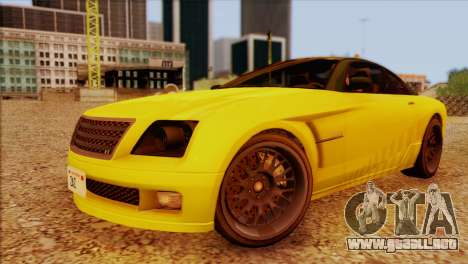 Schyster Fusilade Sport 1.0 (IVF) para visión interna GTA San Andreas