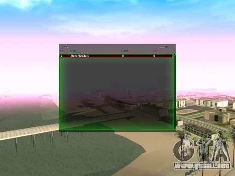 New green SampGUI para GTA San Andreas