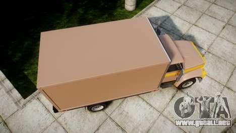 Ford L8000 para GTA 4 visión correcta