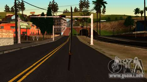 Katana from Shadow Warrior para GTA San Andreas segunda pantalla
