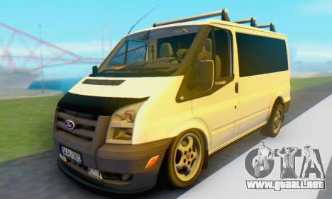 Ford Transit Air para GTA San Andreas