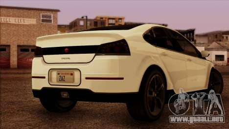 Cheval Surge 1.1 (HQLM) para GTA San Andreas left