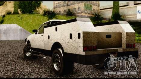 Utility Van from GTA 5 para GTA San Andreas left