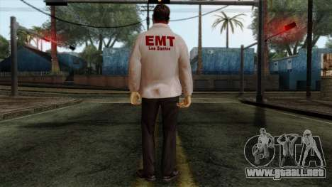 Police Skin 10 para GTA San Andreas segunda pantalla