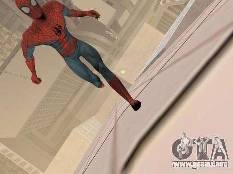 Spiderman 3 Crawling para GTA San Andreas sucesivamente de pantalla