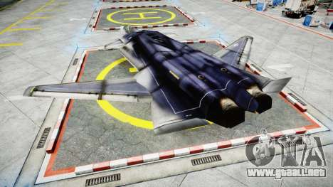 Lockheed F-121 Switchblade para GTA 4 left