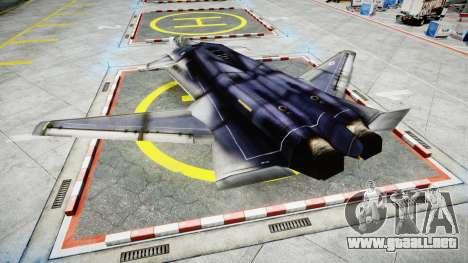 Lockheed F-121 Switchblade para GTA 4 left