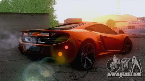 McLaren MP4-12C Gawai v1.5 para GTA San Andreas left