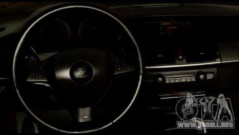 BMW X6 Hamann para la visión correcta GTA San Andreas